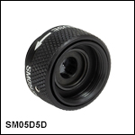 SM05-Threaded, Ring-Actuated Iris Diaphragm