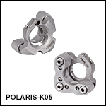 Polaris Ø1/2in Kinematic Mirror Mount, 3 Adjusters