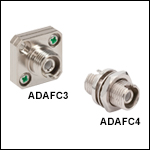 FC/APC to FC/APC Narrow-Key-Slot Mating Sleeves