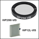Visible Wire Grid Polarizers: 420 - 700 nm