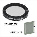 Ultra Broadband Wire Grid Polarizers: 250 nm - 4 µm