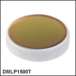 Longpass Dichroic Mirrors/Beamsplitters: 1500 nm Cut-On Wavelength