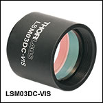 Dispersion Compensator for LSM03-VIS Scan Lens