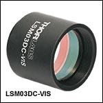 Dispersion Compensator for LSM03-VIS Scan Lens
