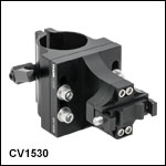 Ø1.5in Vertical Post-Mounting Cage System Clamps