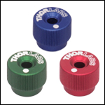 1/4in-80 Removable Color-Coded Adjustment Knobs