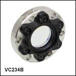High-Vacuum CF Flange Viewports for Ø1.5in Windows