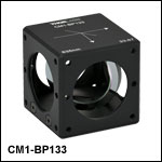 33:67 (R:T) Cube-Mounted Pellicle Beamsplitter, Coating: 635 nm