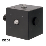 Ø2in Integrating Spheres with 3 Input Ports