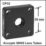 SM05-Threaded Cage Plate