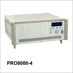 PRO8000-4 System for High-Power Applications with 8-Slot Chassis