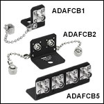 FC/PC to FC/PC L-Bracket, Wide-Key-Slot Mating Sleeves