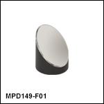 Ø1in 90° Off-Axis Parabolic Mirrors, UV-Enhanced Aluminum Coating