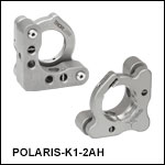 Polaris Ø1in Kinematic Mirror Mount, 2 Adjusters
