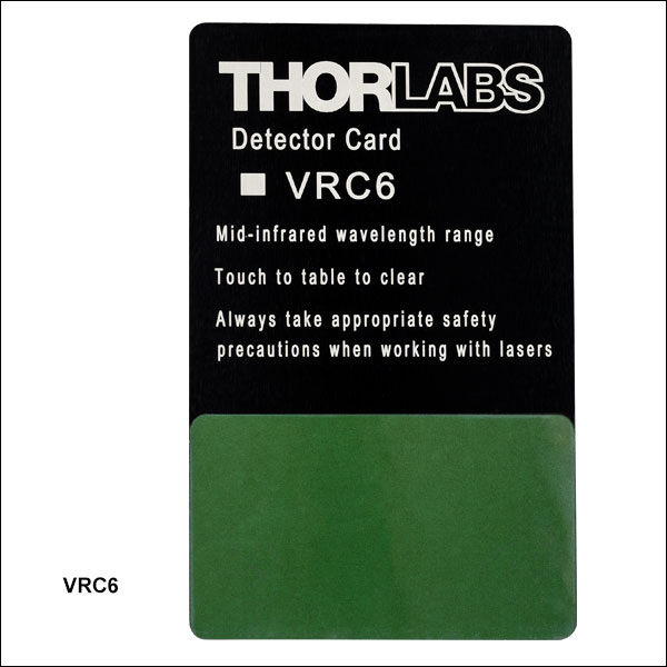 Thorlabs MIR detector cards