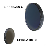 Economy Film Polarizers, 1050 - 1700 nm