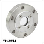 High-Vacuum CF Flange Viewports with Ø1in Windows