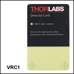 UV/VIS Detector Card: 250 to 540 nm