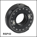 Continuous Rotation Mount for Ø1in Optics withAdjustable Zero