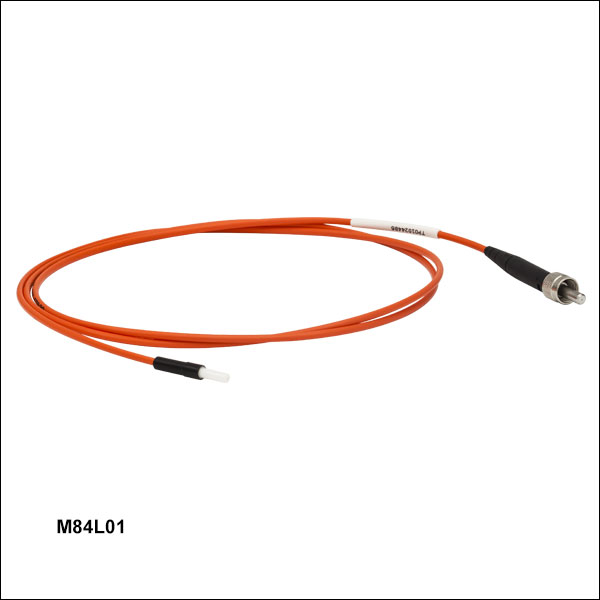 Multimode Sma Fiber Optic Patch Cables With Ferrule Ends