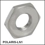 1/4in-100 Lock Nut, Stainless Steel