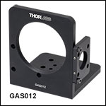 Galvo Mirror and Scan Lens Mounting Bracket for LSM05