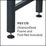 ScienceDesk Frame Risers