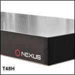 1.2 m x 2.5 m x 210 mm (4' x 8' x 8.3in) Nexus Optical Tables