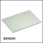 250 - 450 nm Plate Beamsplitter
