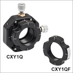 30 mm Cage XY Translator for Ø1in Optics with Quick-Release Mounting Carriage