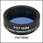 Mounted Temperature-Balancing Filter, -132 mireds