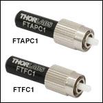 Fiber Optic Light Traps / Terminators with Connectors