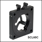 Self-Centering Lens Mount, 60 mm Cage Compatible