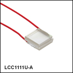 Ø10 mm Uncompensated Half-Wave Liquid Crystal Retarders, Unmounted