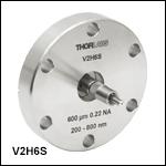 Ø600 µm Ultra-High-Vacuum Fiber Feedthrough