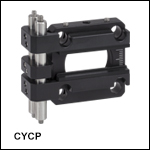 Cylindrical Lens Mount for 30 mm Cage Systems<br>