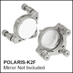 Ø2in Polaris Low-Distortion Kinematic Mount, 3 Adjusters