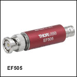 High-Pass Electrical Filters, Coaxial,130 kHz to 10 MHz