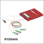 3-Wavelength WDMs (RYB Combiners): 488, 588, and 640 nm