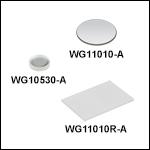 N-BK7 Windows, AR Coated: 350 - 700 nm