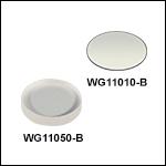 N-BK7 Windows, AR Coated: 650 - 1050 nm