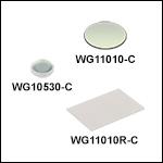 N-BK7 Windows, AR Coated: 1050 - 1700 nm