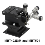 5-Axis Stage Kit, Low Profile, 112.5 mm Deck Height, Metric