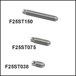 1/4in-80 Fine Hex Adjusters with Side Torque Holes