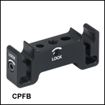 FiberBench Adapter: 30 mm Cage System Mount for FiberBench Components