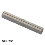 Bottom V-Groove Inserts for Non-Rotating Fiber Holding Blocks - Two Required for FHB1