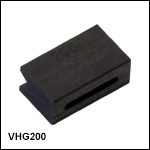 Additional Graphite V-Groove Inserts for Splicing Unit