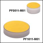 Protected Gold Zerodur Mirrors (800 nm - 20 µm)