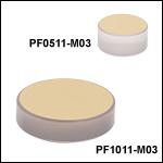 Unprotected Gold Zerodur Mirrors (800 nm - 20 µm)