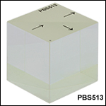 2in (50.8 mm) Polarizing Beamsplitter Cubes
